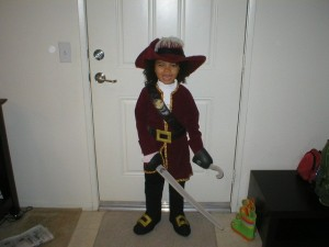 Captain Hook back in the good ol days